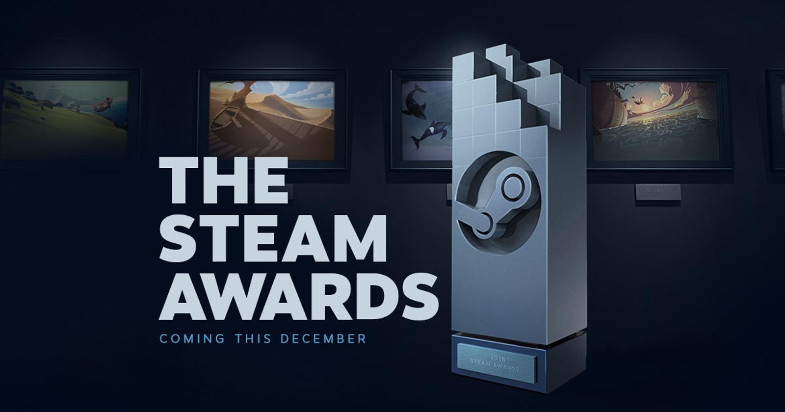 Confira os indicados ao primeiro Steam Awards