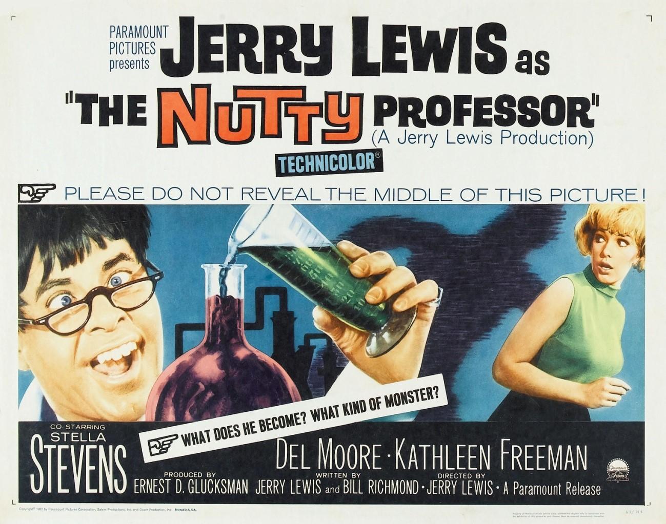 Rebobinando: O Professor Aloprado (1963)