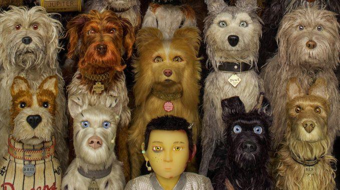 Imagem do filme Ilha dos Cachorros