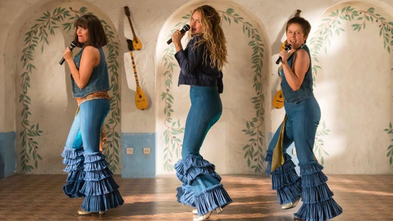 Imagem do filme 'Mamma Mia! Lá Vamos Nós de Novo!'