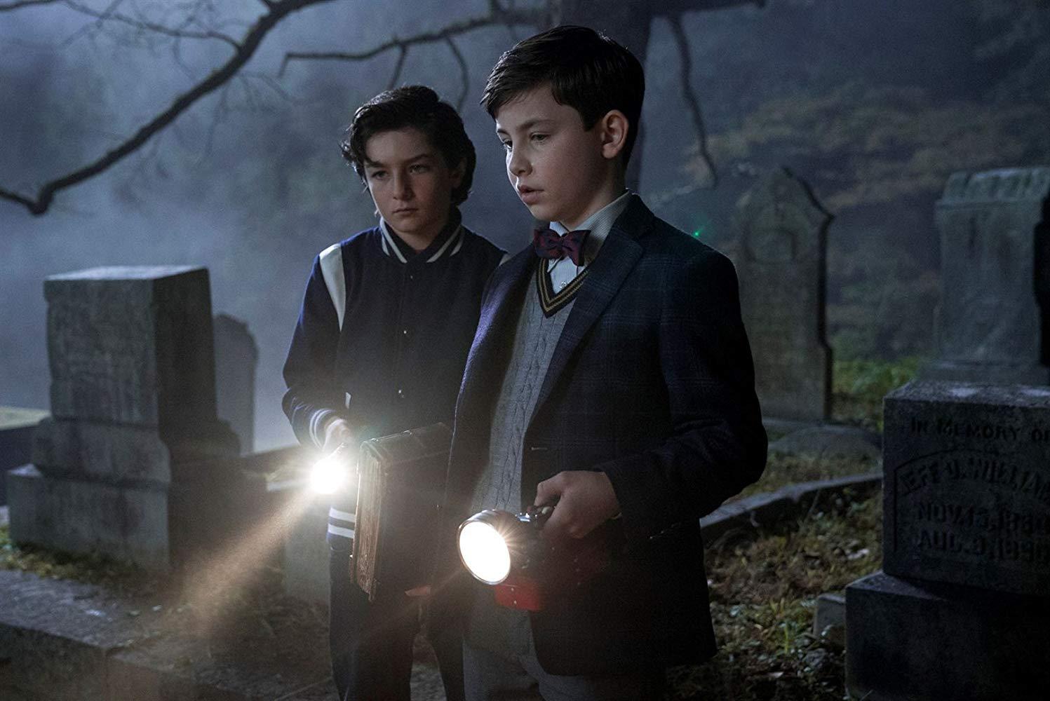 Imagem do filme 'O Mistério do Relógio na Parede'